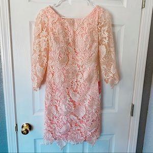 JJ's House lace dress soft pink XSmall